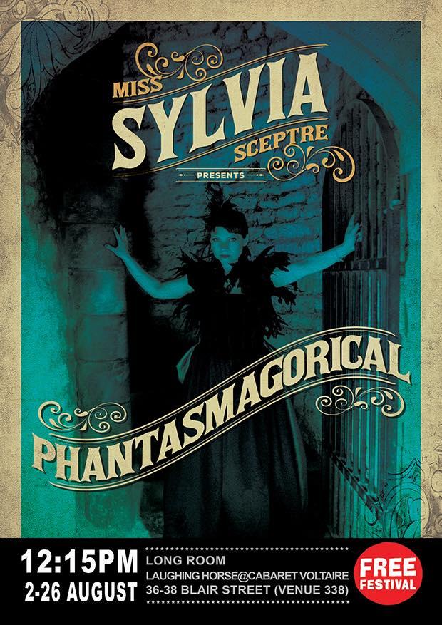 sylvia sceptre - phantasmagorical poster